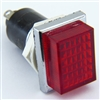 PACK OF 10 YuCo YC-16TRL-7R-24-I-10 RED 16MM 24V AC/DC