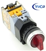 YC-SS22PMA-I2R-3 ILLUMINATED SELECTOR SWITCH