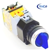YC-SS22PMA-I3BU-6 ILLUMINATED SELECTOR SWITCH
