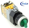YC-SS22PMA-I3G-6 ILLUMINATED SELECTOR SWITCH