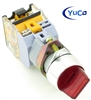 YC-SS22XPMA-I2R-6 ILLUMINATED SELECTOR SWITCH