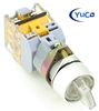 YC-SS22XPMA-I2W-3 ILLUMINATED SELECTOR SWITCH