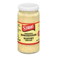 STRUBS WHITE HORSERADISH 250ML