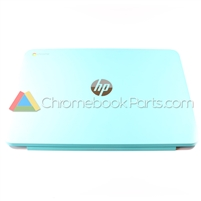 HP 14 Q-Series Chromebook LCD Back Cover, Ocean Turquoise - WWAN Version - 740136-001