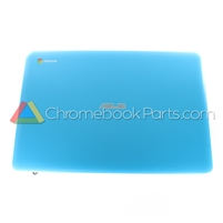 Asus 13 C300 Chromebook LCD Back Cover, Blue