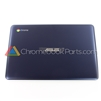 Asus 11 C201PA Chromebook LCD Back Cover, Navy Blue - 90NL0912-R7A010