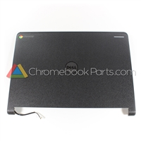 Dell 11 3120 Chromebook LCD Back Cover w/ skins