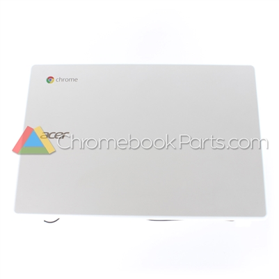 Acer 11 C720P Chromebook LCD Back Cover, White - 60.MKEN7.010