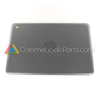 HP 11 G6 EE Chromebook LCD Back Cover, Gray - L14908-001
