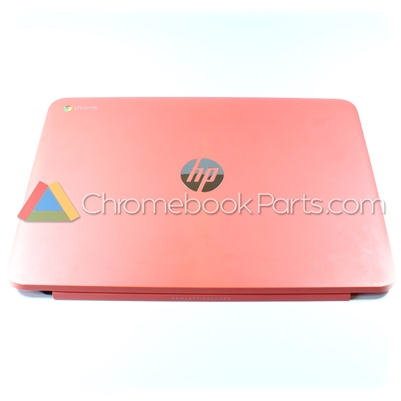 HP 14 Q-Series Chromebook LCD Back Cover, Peach Coral - WWAN Version - 740137-001