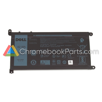 Dell 11 3180 Chromebook Battery - FY8XM