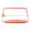 HP 14 Q-Series Chromebook LCD Bezel, Peach Coral - 740150-001