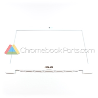 Asus 13 C300MA Chromebook Red/White - LCD Bezel