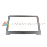 Asus 11 C202SA Chromebook LCD Bezel, Dark Gray