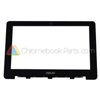 Asus 13 C300 Chromebook LCD Bezel, Black