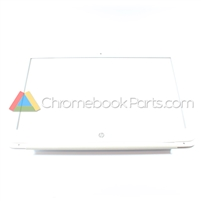 HP 14 SMB Chromebook LCD Bezel, White - 741670-001
