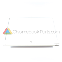 HP 14 Q-Series Chromebook LCD Bezel, White - 741670-001