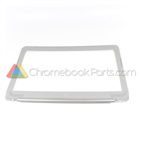 HP 14 AK-Series Chromebook LCD Bezel, Silver, HD-Version - 830865-001