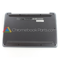 Asus 11 C202SA Chromebook Bottom Cover, Dark Gray