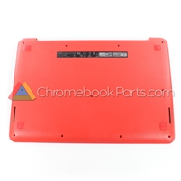 Asus 13 C300 Chromebook Bottom Cover, Red