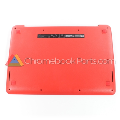 Asus 13 C300 Chromebook Bottom Cover, Red - 13NB05W3AP0601