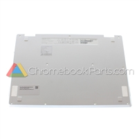 Acer 11 CB5-132T Chromebook Bottom Cover, White - 60.G54N7.002