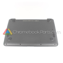 HP 11 G6 EE Chromebook Bottom Cover, Gray - L14901-001