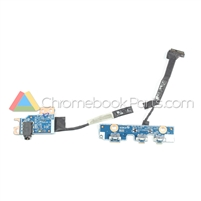 Dell 11 3189 Chromebook Powerboard and Audio Board Set