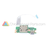 Acer 14 CP5-471 Chromebook USB Daughterboard - 55.GDDN7.001
