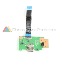 Asus 13 C301SA Chromebook USB Daughterboard - 60NB0BL0-IO1020