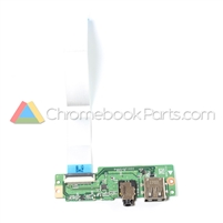 Acer 11 CB3-131 Chromebook USB I/O Circuit Board