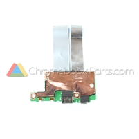 Asus 11 C213SA Chromebook USB Daughterboard