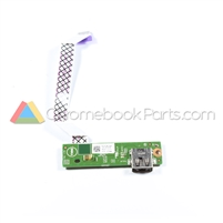 Dell 13 7310 Chromebook I/O USB Daughterboard - TTX96