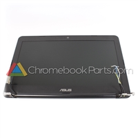 Asus 13 C300 Chromebook LCD Assembly, Black