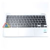 Asus 11 C201PA Chromebook Palmrest Assembly w/ Touchpad, Silver - 90NL0912-R31US0
