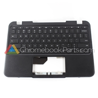 Lenovo 11 N22 Chromebook Palmrest Assembly w/ Keyboard Only - 5CB0L02103