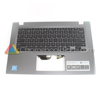 Acer 14 CP5-471 Chromebook Palmrest Assembly w/ Keyboard Only - 6B.GDDN7.016