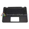 Dell 11 5190 (2-in-1) Chromebook Palmrest, no touchpad - 02W44K