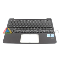 Asus 11 C202SA Chromebook Palmrest Assembly w/ Keyboard Only, Black - 90NX00Y3-R30290