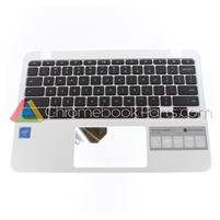 Acer 11 CB311 Chromebook Palmrest Assembly w/ Keyboard Only - 6B.GN4N7.017