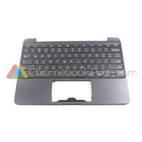 Samsung 11 XE500C13 Chromebook Palmrest Assembly w/ Keyboard Only - BA98-00603A