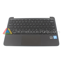 HP 11 G4 EE Chromebook Palmrest Assembly w/ Keyboard & Touchpad - 851145-002
