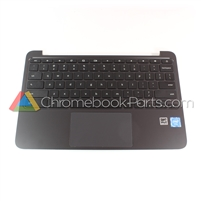 HP 11 G5 EE Chromebook Palmrest Assembly w/ Keyboard & Touchpad