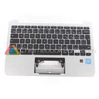HP 11 G4 Chromebook Palmrest Assembly w/ Keyboard Only, Bilingual
