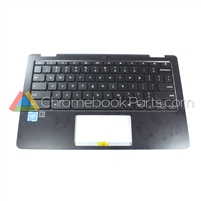 Asus 11 C213SA Chromebook Palmrest Assembly w/ Keyboard Only - 04060-00730001
