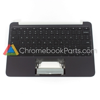 HP CHROMEBOOK 11 G4 EE PALMREST W/OUT TOUCHPAD 851145-001