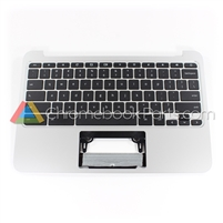 HP 11 G4 Chromebook Palmrest Assembly w/ Keyboard Only - 788639-001