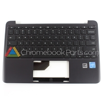 HP 11 G5 EE Chromebook Palmrest Assembly w/ Keyboard Only - 917442-001