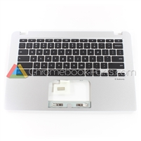 Toshiba 13 CB30-B3122 Chromebook Palmrest Assembly w/ Keyboard Only - A000380170 - EABUH006010