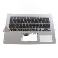 Acer 13 CB5-312T Chromebook Palmrest Assembly w/ Keyboard Only - 6B.GHPN7.031
